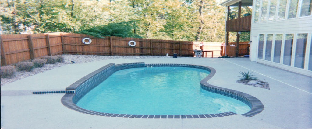 Backyard Pool After