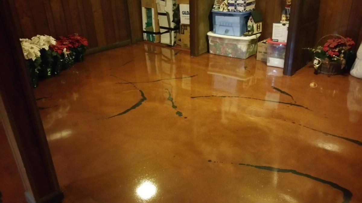 A Few Of Our Stained Concrete Styles Even Benefit From Own Discovery What We Call Antiquing It S Another Passed On To Customers Due